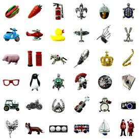 ピンブローチ 英国 カドガン社 ピンバッジ ピンズ ラペルピン フォーマル スーツ メンズ レディース おしゃれ 面白い ユニーク 珍しい イギリス 動物 趣味 ギフト プレゼント 贈り物 イベント 景品 コレクション メール便OK