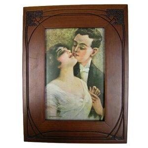 ハンドメイド 木製 フォトフレーム PR-692 イタリア Selli社 インテリア 欧州雑貨 卓上 写真立て 出産 結婚 お祝 ギフト プレゼント 贈り物 ラッピング無料