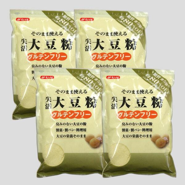 【送料無料】みたけ 失活大豆粉 500g×4袋セット 大豆粉 (だいずこ) ソイパウダー (低糖質 糖質制限 糖質オフ 糖質カット ダイエット食品 ダイエットフード)