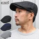 帽子 ハンチング メンズ レディース デニム ルーベン Ruben