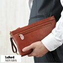 青木鞄 Lugard 牛ヌメ革スリムセカンドバッグ Mサイズ 日本製 NEVADA No.5071
