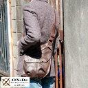 OXiDe アンティークショルダーバッグ /男性用 メンズ/斜めがけバッグ/レザーバッグ/A5 iPad mini/革 本革 馬革/鞄 かばん バッグ/ホースレ...