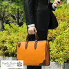 青木包商務包本革止観COMPLEX GARDENS公事包人本皮革通勤肩膀披肩2way B4日本製造休閒漂亮的自立底釘包包