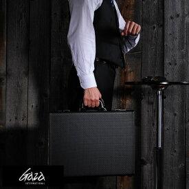 【 ポイント10倍 】 青木鞄 GAZA B4アタッシュケース ブラック No.6253-10 男性用 メンズ アタッシュケース B4 ビジネスバッグ 合成皮革 鞄 かばん 日本製 青木鞄 ブリーフケース 大きめ 【あす楽対応】 【送料無料】