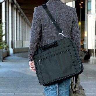 服装袋 3Y71 / 男人的 / 服装袋 / 2way / 三栏式 / 尼龙 / 服装案例 / 西装放 / 旅行 / 轻 / 10P06May15 /