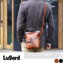 青木鞄 Lugard シャドー牛革ミニショルダーバッグ 縦型 日本製 G-3 No.5215