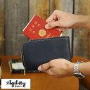 AGILITY パスポートウォレット 東京レザー ボヤージュ 店長オススメ /男性用 メンズ/トラベルウォレット/革 本革 レザ…