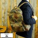 GNUOYP ニュピ デイパック ボタニカル柄 SA3145 /男性用/メンズ/リュック/バックパック/日本製/キャンバス/帆布/A4/鞄…