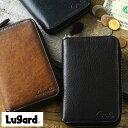 【 ポイント2倍 】 青木鞄 二つ折り財布 ラウンドファスナー Lugard G-3 男性用 メンズ ラウンドファスナー 財布 コン…
