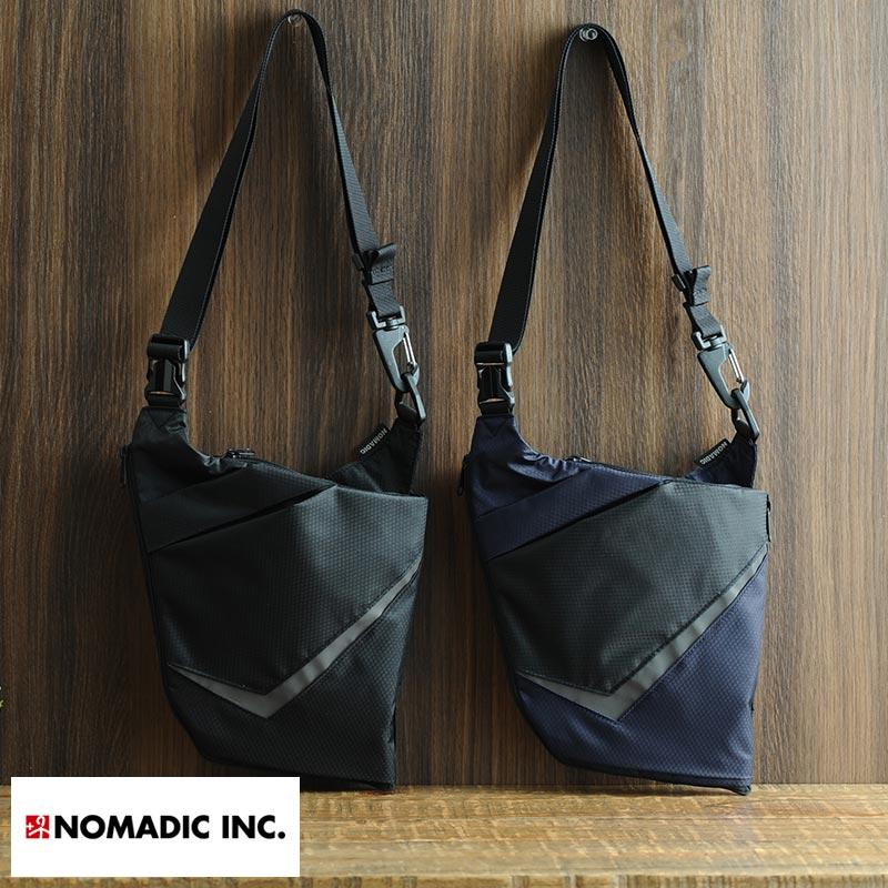 NOMADIC モノ・マガジンコラボ ウェアラブル2wayリフレクター付き撥水ワンショルダーバッグ