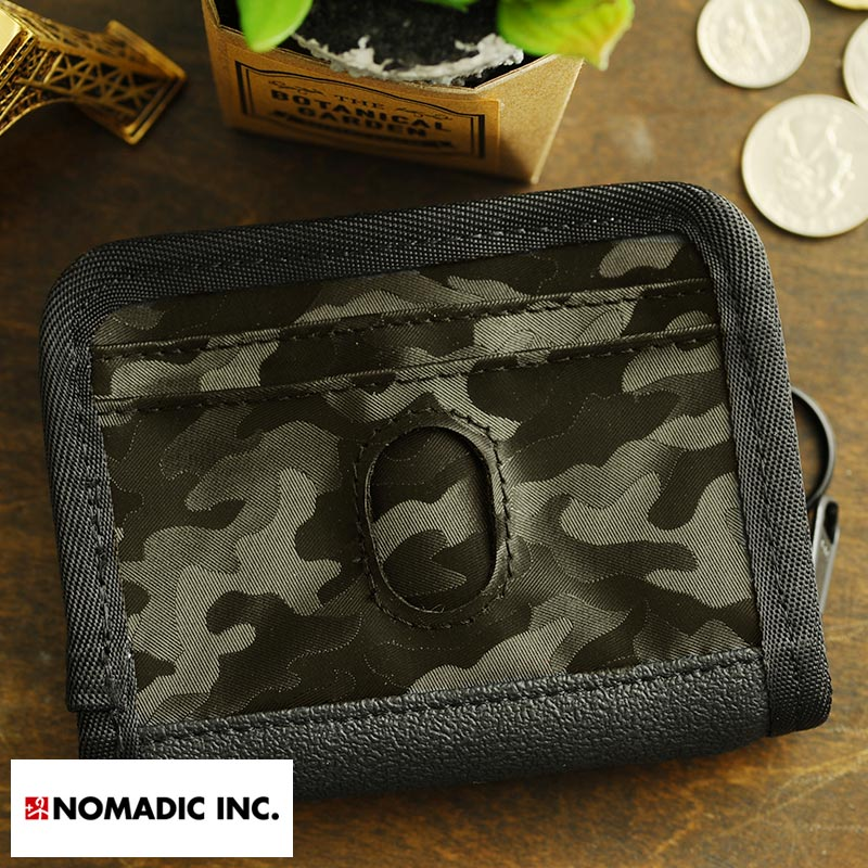 NOMADIC Multiple Storage Wallet マルチ財布 ブラック PA-12-07