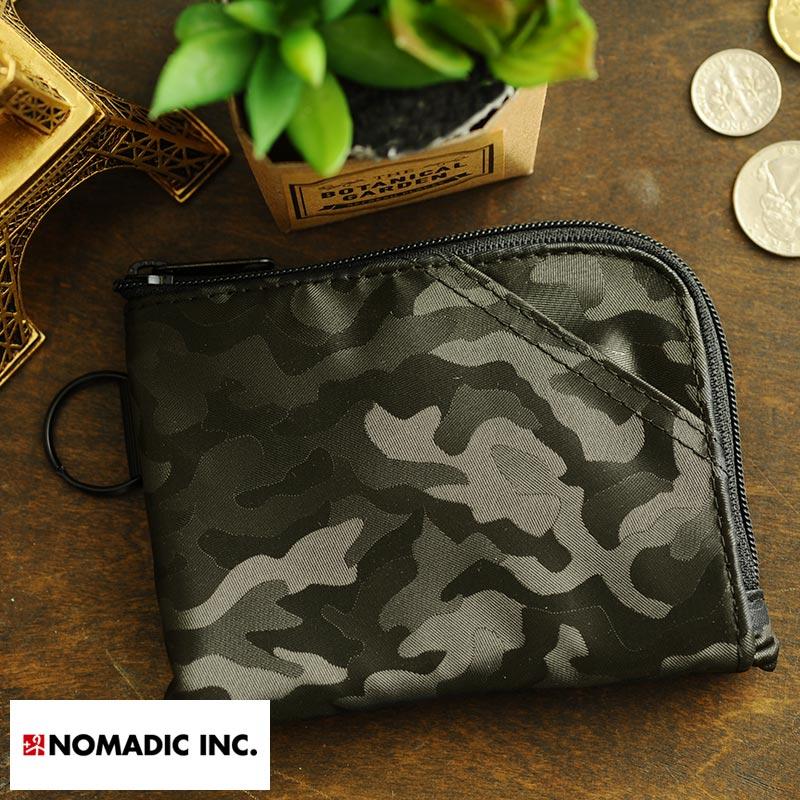 NOMADIC L-Zipper Wallet L字ファスナー財布 ブラック PA-14-07