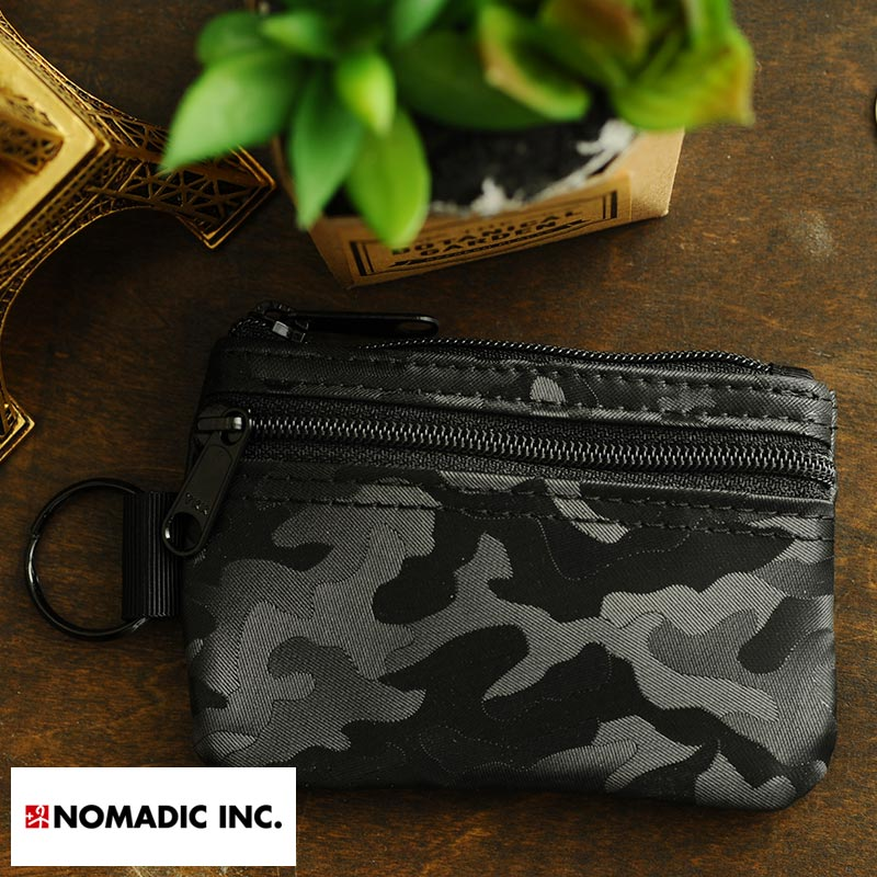 NOMADIC Compact Wallet コンパクト財布 ブラック PA-15-07