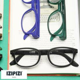 老眼鏡 おしゃれ IZIPIZI リーディンググラス ウェリントンスリム LMS#B メンズ レディース シニアグラス かっこいい フランス 1.0 1.5 2.0 2.5 3.0 男性 女性 ギフト おすすめ