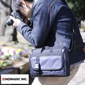 NOMADIC ノーマディック 撥水カメラショルダーバッグ 5L 男性用 メンズ カメラバッグ 一眼レフ ショルダー ミラーレス ナイロン 鞄 かばん バッグ