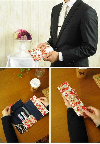 ペンケースに変わるご祝儀袋末広結婚祝い用
