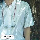 DIFFUSER シルク製グラスコード Two Tone Silky Glass Code 男性用 メンズ 眼鏡ストラップ グラスコード シニアグラス…