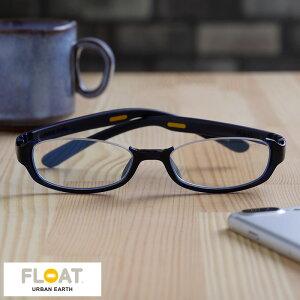 FLOAT Urban Earth リーディンググラス Ocean アンダーリムタイプ スクエア型 男性用 メンズ 老眼鏡 ブルーライトカット おしゃれ 1.5 2.0 2.5 3.0 リーディンググラス シニアグラス おじいちゃん プレ