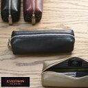 【 ポイント10倍 】 EVERWIN 日本製 牛革 ペンケース 男性用 メンズ ペンケース 革 本革 レザー 牛革 日本製 大容量 …
