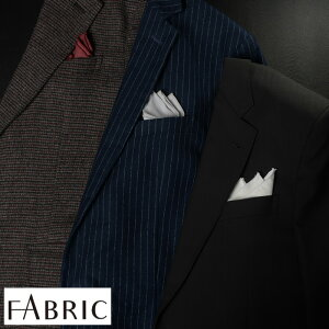 FABRIC メガネ拭きポケットチーフ セレブレーションシリーズ 男性用 メンズ めがね拭き メガネクロス 眼鏡拭き 高級 ポケットチーフ 正装 礼服 結婚式 ギフト プレゼント