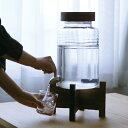 【 ポイント5倍 】 焼酎サーバー 5リットル 台付き 焼酎サーバー ガラス ドリンクサーバー ウォーターサーバー 蛇口付…