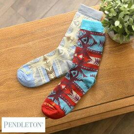 【期間限定割引A】靴下 メンズ PENDLETON ペンドルトン メンズソックス Polyester M おしゃれ 人気 かわいい 大人 男性 カジュアル ギフト プレゼント 人気