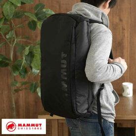 MAMMUT リュック 大容量 メンズ バックパック 35L Seon Cargo ブラック スポーツ 大きい リュックサック 部活 トラベル 旅行 【送料無料】