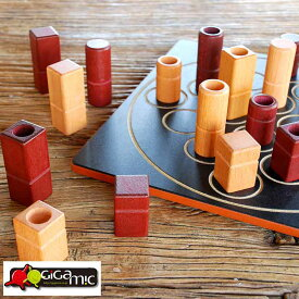 Gigamic (ギガミック) ボードゲーム 大人 海外 クアルト! おしゃれ 木製 家族 家庭用 面白い 子供 一緒 パーティ 【あす楽対応】 【楽ギフ_包装】