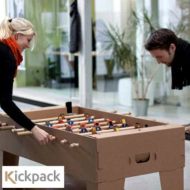 Kickpack kartoni カルトーニ2.0 組み立てテーブルサッカー フーズボール ゲーム 大人 おしゃれ テーブルサッカー 卓上サッカー 室内 遊び 大人も楽しめるおもちゃ スポーツバー