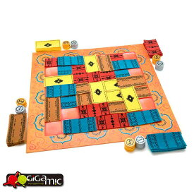 Gigamic ボードゲーム 大人 海外 マラケッシュ Marrakech フランス おしゃれ ゲーム 家庭用 遊び お家 パーティ 子供 家族
