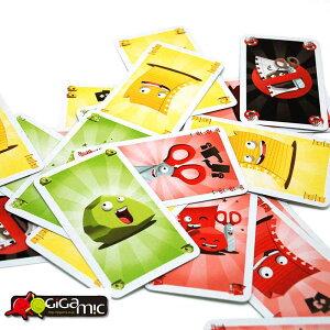 Gigamic ボードゲーム 大人 海外 じゃんけんカードゲーム チャオ Ciao! フランス おしゃれ ゲーム 家庭用 遊び お家 パーティ 子供 家族