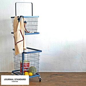 journal standard Furniture ジャーナルスタンダードファニチャー JSF ランドリーワゴン バスケットセット ランドリーボックス 洗濯 収納 キャスター付き おしゃれ 洗濯かご 【あす楽対応】 【送料