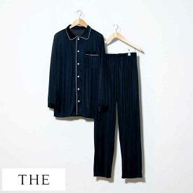 パジャマ シルク メンズ THE (ザ) 日本製 シルクパジャマ Pajamas おしゃれ シルク製 大人 国産 メンズパジャマ 長袖 寝巻き 人気 おすすめ ギフト プレゼント