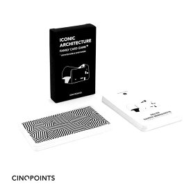 Cinqpoints ICONIC-FAMILY GAME アイコニック 建築カードゲーム