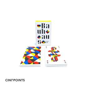 Cinqpoints BAUHAUS playing cards バウハウス-トランプ・カード