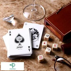 テーブルゲーム おしゃれ ゲーム 大人 海外 PICO PAO 新感覚 気軽に始める ポーカーセット ( トランプ ダイス ) Petaca Poker Card カードゲーム おもちゃ 大人 子供 アナログ 室内 外国