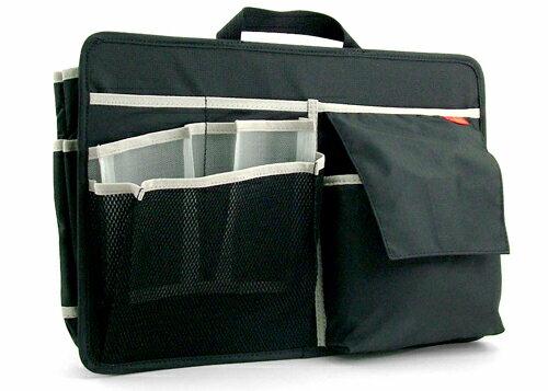 NOMADIC ノーマディック バッグインバッグ A4横型 ショルダー用 ブラック BI-02 /男性用/メンズ/ビジネス/バッグインバッグ/整理/インナーバッグ/オーガナイザー/インナーポケット/ 【楽ギフ_包装】