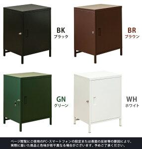 DELIO宅配ボックス大容量1ドアBK/BR/GN/WH