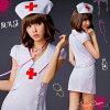 护士角色扮演 cosplay 服装护士性感服饰妇女浮肿乳头劳损的万圣节服装服饰女性护士医生白色面包车 PI 护士帽成人 cosplay 角色扮演是角色扮演护士化装服装 cosplay 文化节学校节日 cosplay 护士衣服便宜