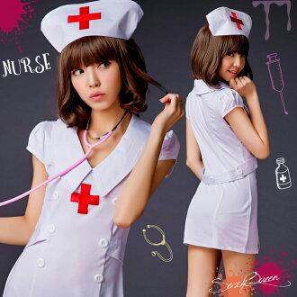 護士角色扮演 cosplay 服裝護士性感服飾婦女浮腫乳頭勞損的萬聖節服裝服飾女性護士醫生白色麵包車 PI 護士帽成人 cosplay 角色扮演是角色扮演護士化裝服裝 cosplay 文化節學校節日 cosplay 護士衣服便宜