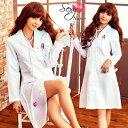 ハロウィン コスプレ ナース ナース服 仮装 衣装 送料無料 女医コス 白衣 コスチューム 看護婦 コスプレセクシー 制服 ナース 大きいサイズ M-2L XL 医者 女医 ホワイト 白 こすぷれ 大人 レディース
