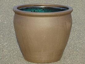 水鉢 2【黒土】Cサイズ 睡蓮鉢 水鉢 メダカ 飼育 鉢 送料無料
