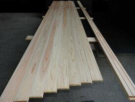 桧フローリング材 ひのき板 幅86.5×厚み15×長さ2900mm 10枚入り 床材 天然木 無垢 床板 国産 木材