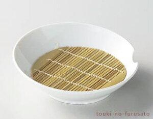 \クーポン配布中!/白磁ツキ盛皿+16.5cm竹すのこ 直径22cm 美濃焼 磁器 盛皿 めん皿 竹スセット trysカ