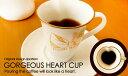 GORGEOUS HEART CUP-OriginalDesign-【ゴージャスハートカップ・4パターン・ハート型・アメリカンコーヒー碗・マグカップ・ゴールド・GOLD・金色・金線・パーティー・食器・国産・完全オリジナルデザイン】【stockヤ】