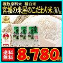 スマホエントリーでポイント10倍!生産地だから出来るこの味。宮城の米屋のこだわり米。ブレンド米のイメージが変わっ…