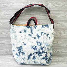 2ウェイバッグ,2way bag,バッグ,バック,bag:【インスタ】【インスタグラム】【インスタ映え】【Instagram】【かわいい】【おしゃれ】【Life&Rice】【藍染】【藍色】【藍】【夏】【Summer】【Thailand】【otop】【タイ】【dp】【zk】【HJ】
