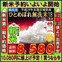 ■新米■29年産 宮城県産 ひとめぼれ 玄米 20kg (精米選択: 無洗米 18kg )【米】【無洗米】
