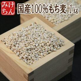国産100%もち麦1kg!今TVで話題!1個のみのご注文は送料+200円【dp】【SS】【HJ】