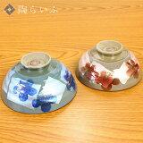 【九谷焼】組飯碗銀彩金梅/美山窯